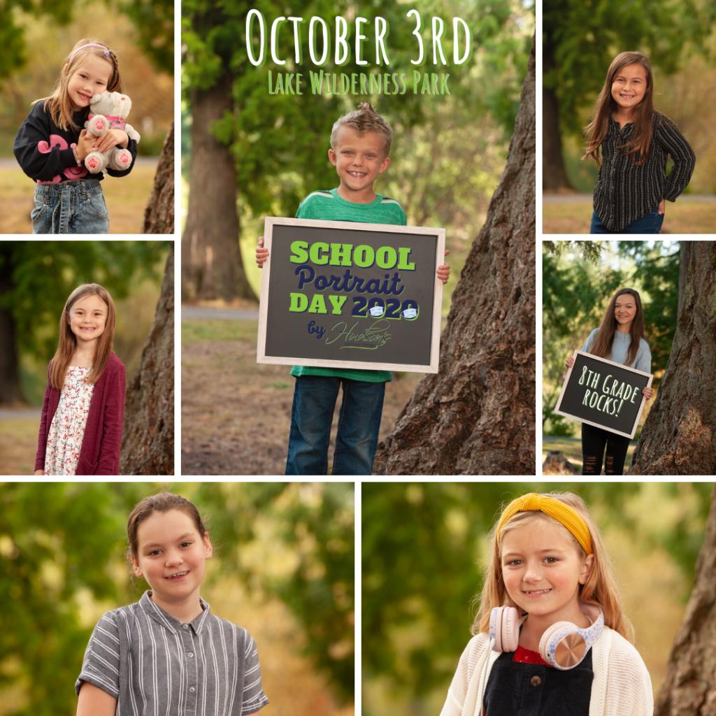 School portraits in 2020
